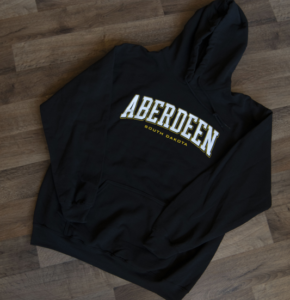 black hoodie sweetshirt