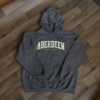 dark gray hoodie sweatshirt